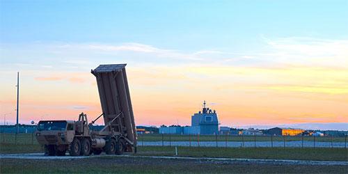 美公开展示萨德反导系统 部署在东欧宙斯盾基地