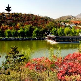 北宫国家森林公园山水相依