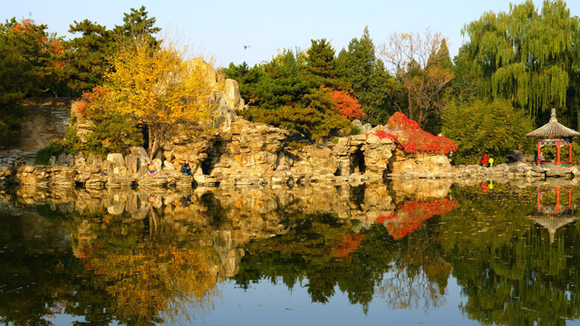 日壇公園:CBD繁華之地的一隅靜謐