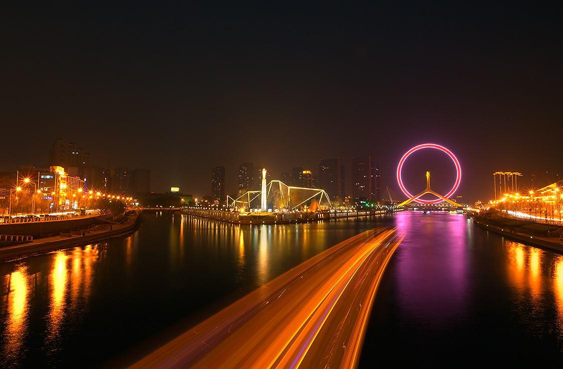 津城夜景,刷屏您的朋友圈