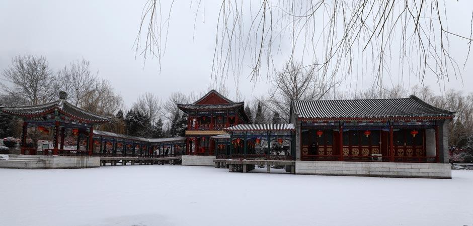 澳门葡京赌场各景点最新雪景美照出炉!快来看看哪个更漂亮?