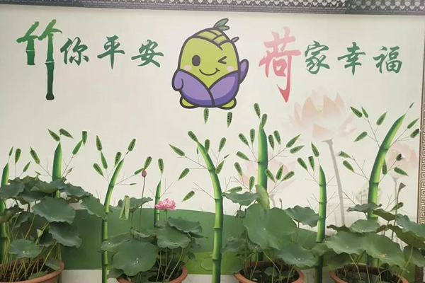 紫竹院公園開展文化活動