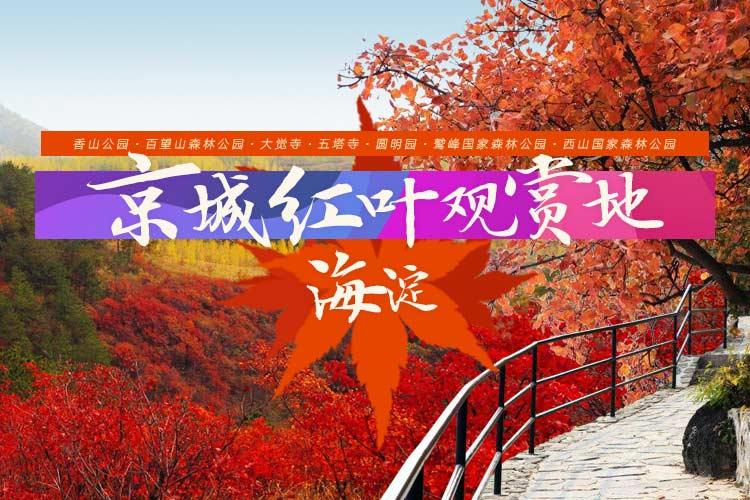 京城紅葉觀賞地:海淀區