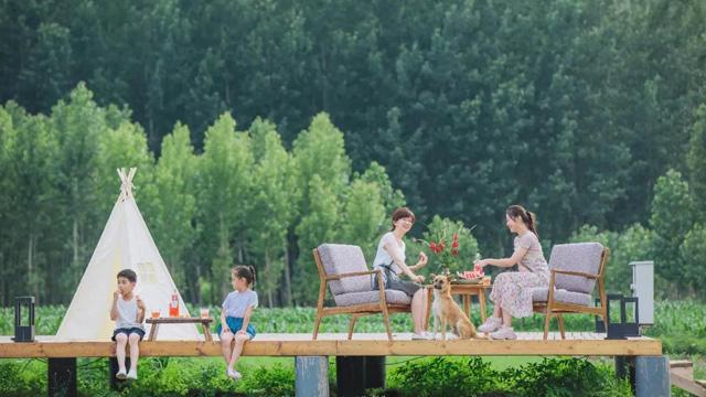 來唐河灣過不一樣的山野小暑假