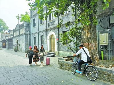 文藝范兒的西打磨廠街