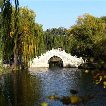 Scenery of Tsinghua University in Beijing