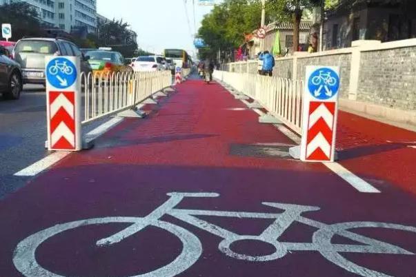 """北京首条自行车""""高速""""方案敲定!封闭管理,禁止电动车通行!"""