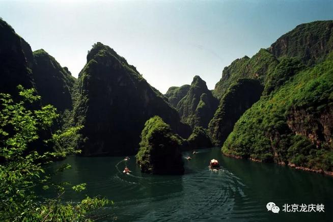 盛夏来临,龙娃带您畅游龙庆峡