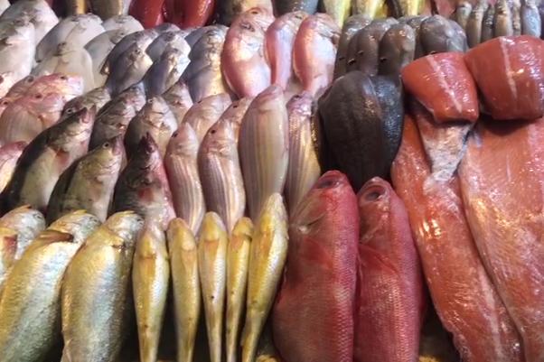 想要买海鲜,去三源里菜市场逛逛