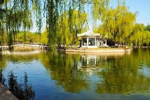 京城二环边的公园美得像山水画,却一直被忽略!