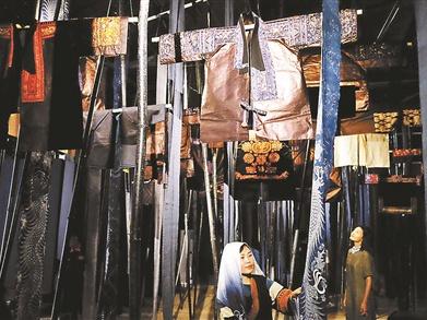 恭王府展出苗族传统手工艺
