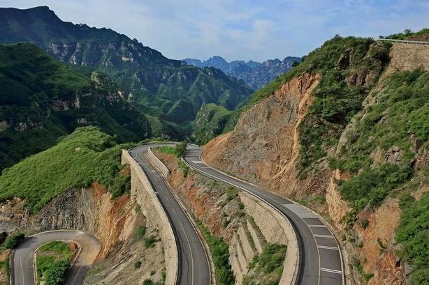 这些惊险刺激的盘山道,竟然在北京周边!