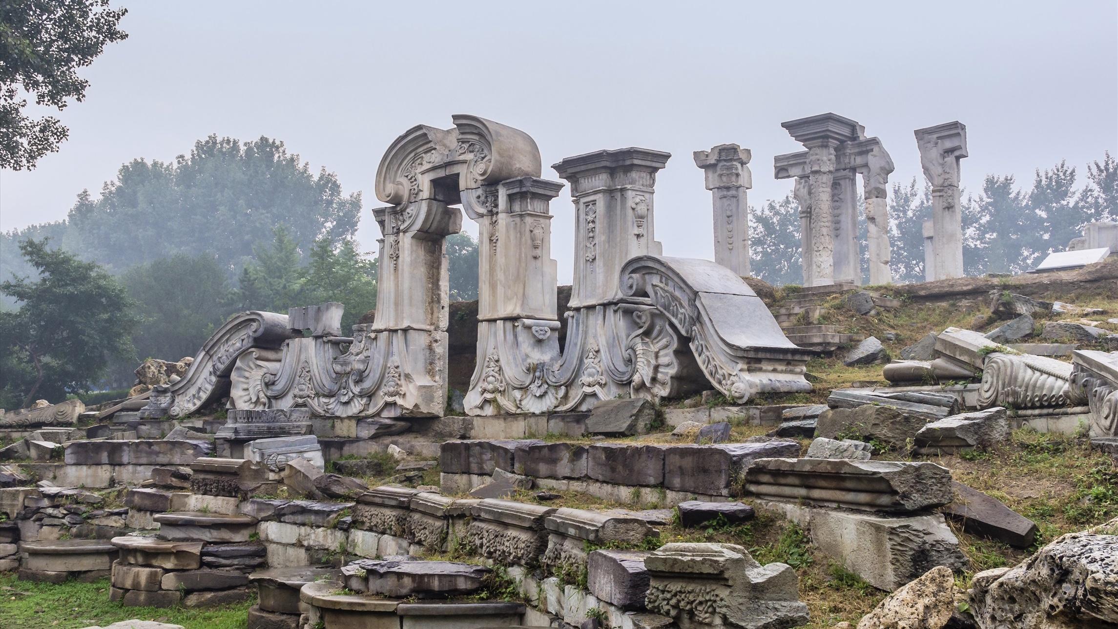CAFA sets up new research center to study Yuanmingyuan ruins