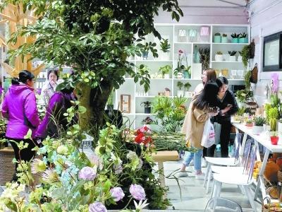 北京植物園首開園藝生活館