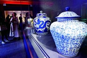 故宮展覽明代御窯瓷器