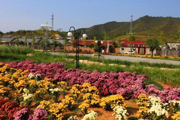 对角沟门村:镶嵌在花海里的满族风情村