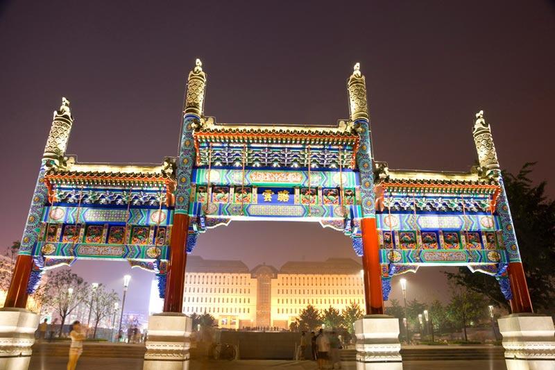 北京西单商圈:西单商场