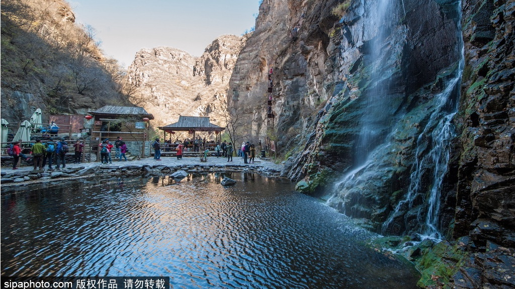 A Natural Gallery in Suburbs of Beijing