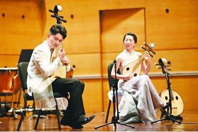 李跞琵琶音乐会上演