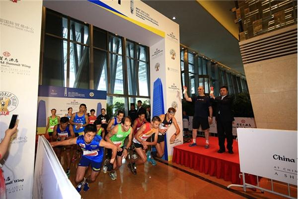 8月25日第六届北京国贸大酒店垂直马拉松赛事