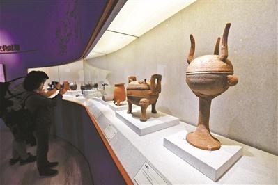 169组件文物展示通州千年历史 包括53组件副中心考古新出土文物
