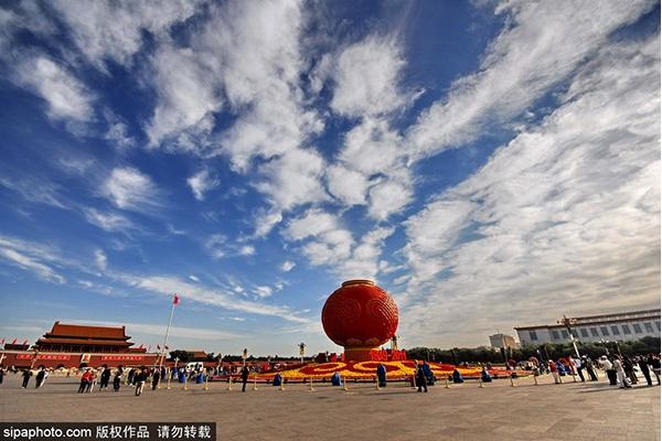 古都文化之中轴线之二:天安门广场