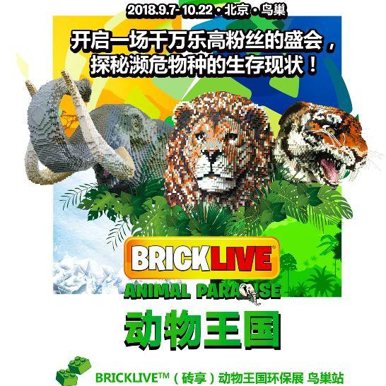 레고로 만든 희귀동물전시회, 냐오차오에서 개막