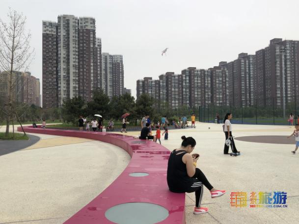 暑日将去,秋高气爽,常营体育公园走起!
