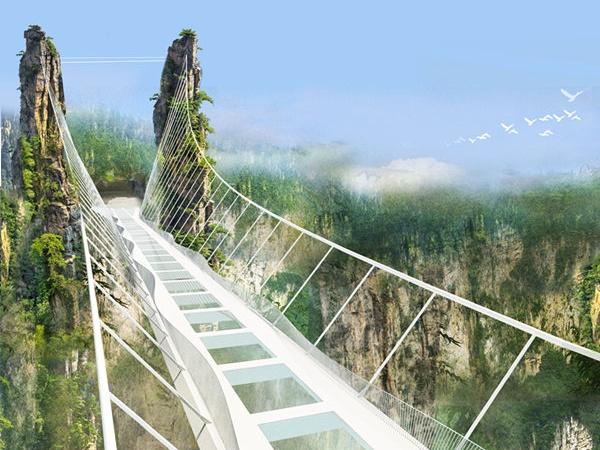 """大北京首座会""""碎""""的玻璃桥!市区出发仅需2个半小时!"""