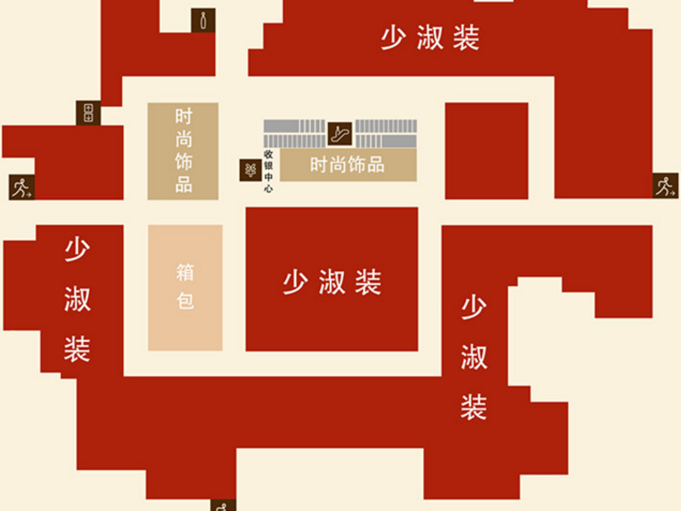北京王府井商圈:东安市场