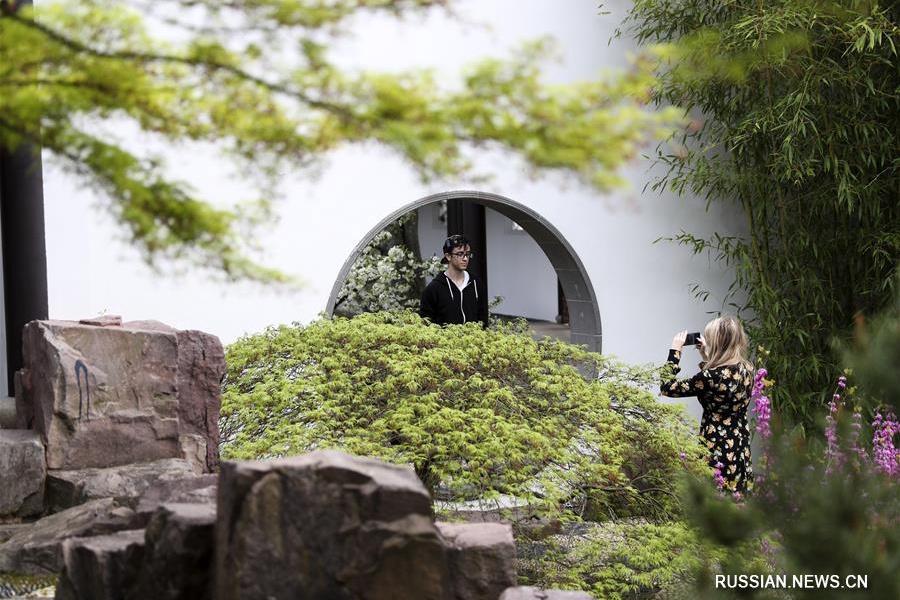 Садово-парковое искусство -- визитная карточка Китая