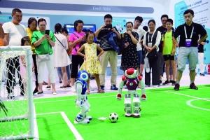 姚明机器人2.0版在向你招手
