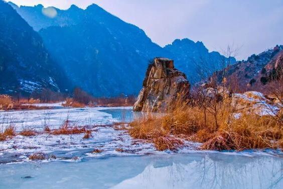 Долина Белой реки в пригороде Пекина