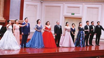 """天歌歌剧团""""下午茶""""系列音乐会 激昂旋律唱响新时代"""