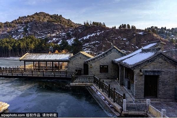 宁谧柔美的世外桃源村落