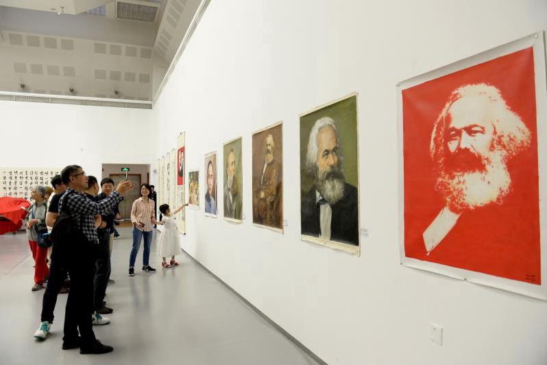 寒夫书画文艺术成果展在京举办