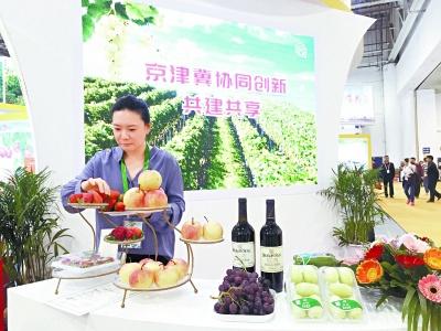 京津冀参加第十九届中国绿色食品博览会