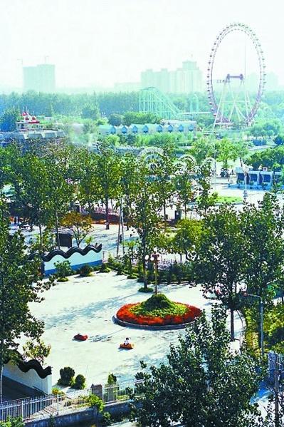 北京游乐园改建公园征民意