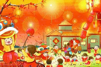 """春节古时称""""元旦"""""""
