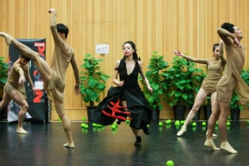 北京当代芭蕾舞团今天上演十年庆典