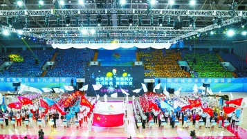 北京市第十五届运动会开幕