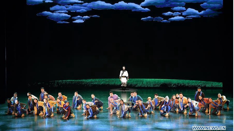 Artists present folk dance performance with theme of Mongolian ethnic group in Beijing