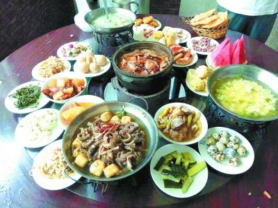 柳沟村 农家遍地豆腐宴