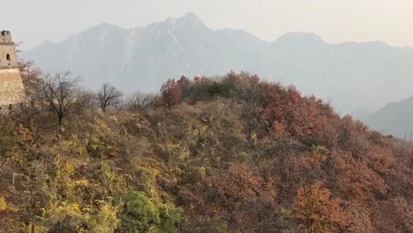 慕田峪長城秋季美景
