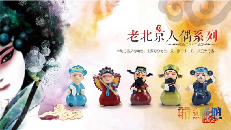 北京旅游商品系列推荐:老北京民俗风情人偶系列商品