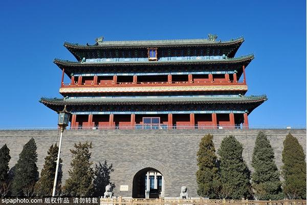 古都文化之中轴线:正阳门及箭楼