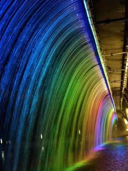 北京副中心夜景:记忆中多瑙河的样子