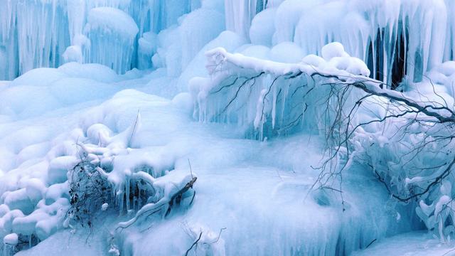 入冬美景獨一份!京郊最美冰瀑大盤點,每一個都超想去