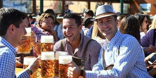 第186届慕尼黑啤酒节开幕