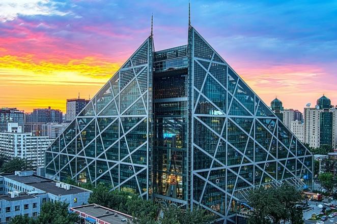 北京CBD中心的艺术馆:侨福芳草地购物中心